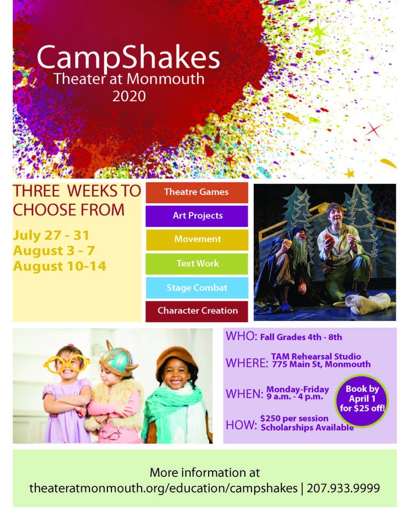 Camp Shakes - Theater at Monmouth