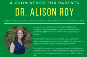 Parent Zoom Series