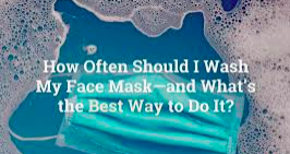 Washing a Face Mask/Covering